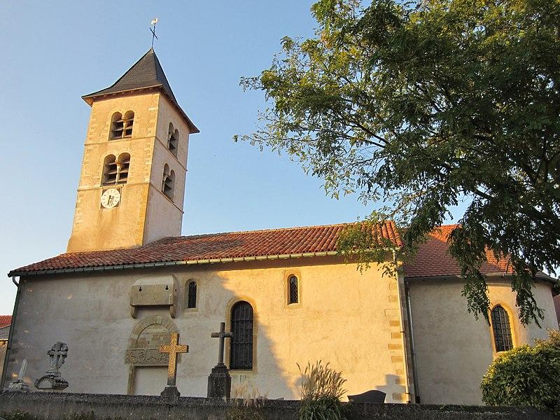 Photo du Monument Historique Eglise catholique Saint-Pierre, dite aussi église de la Nativité-de-la-Vierge-Marie situé à Mey