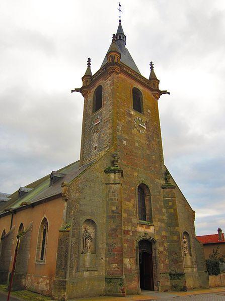 Photo du Monument Historique Eglise situé à Morhange