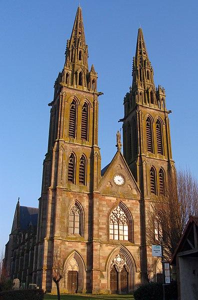 Photo du Monument Historique Eglise Saint-Nicolas situé à Munster