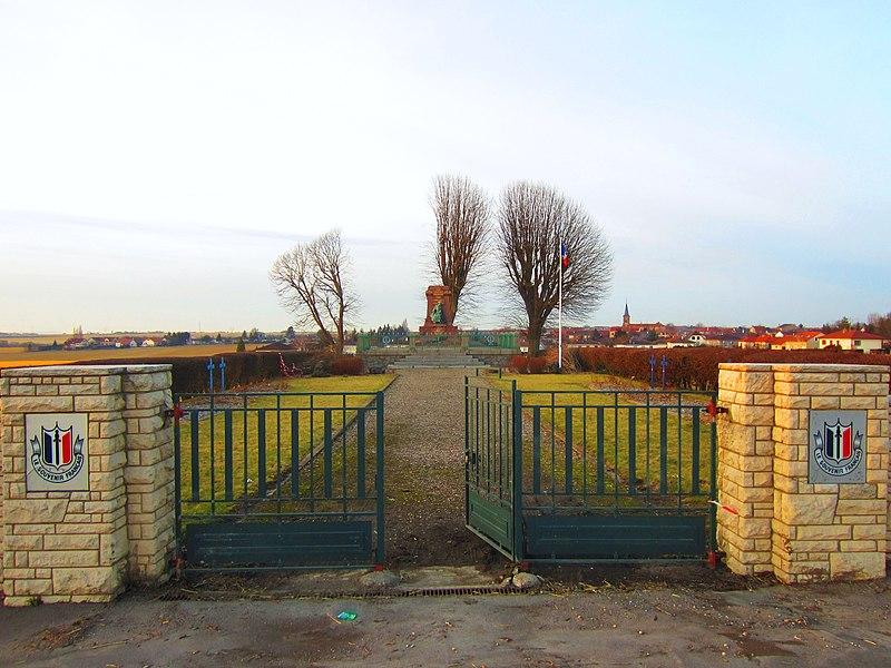 Photo du Monument Historique Monument du Souvenir Français situé à Noisseville