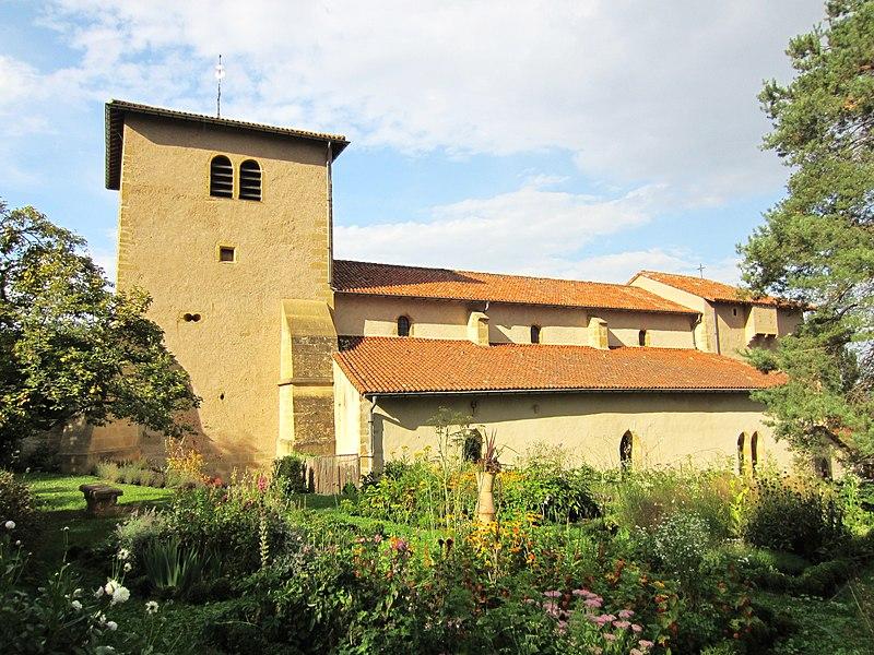 Photo du Monument Historique Eglise Saint-Pierre situé à Norroy-le-Veneur