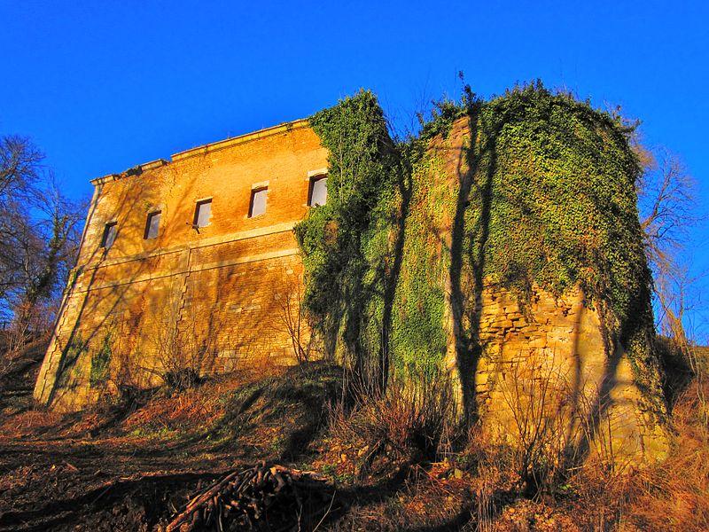 Photo du Monument Historique Château (ruines) situé à Ottange
