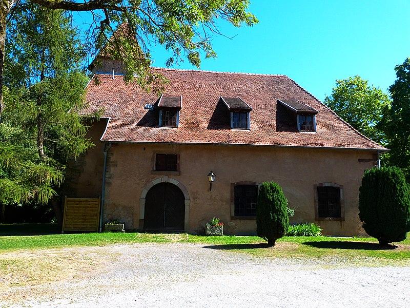 Photo du Monument Historique Château d'Einartzhausen situé à Phalsbourg