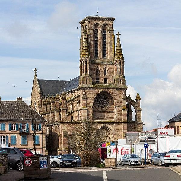 Photo du Monument Historique Eglise situé à Phalsbourg