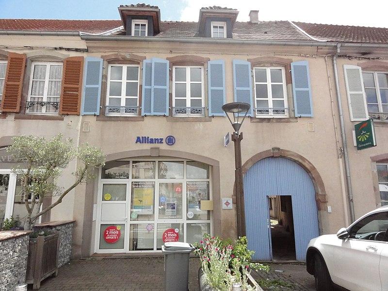 Photo du Monument Historique Immeuble situé à Phalsbourg