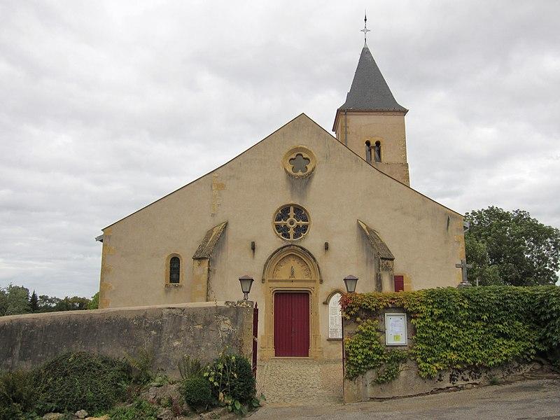Photo du Monument Historique Eglise situé à Plappeville