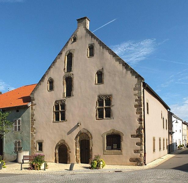 Photo du Monument Historique Maison de la Dîme situé à Rettel