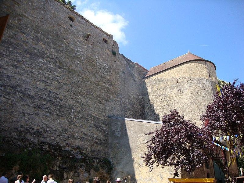 Photo du Monument Historique Château-fort (restes) situé à Rodemack