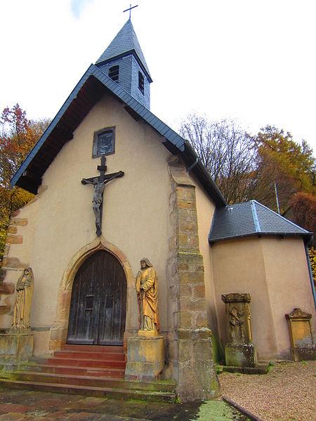 Photo du Monument Historique Chapelle Sainte-Croix situé à Saint-Avold