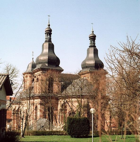 Photo du Monument Historique Eglise Saint-Nabor situé à Saint-Avold