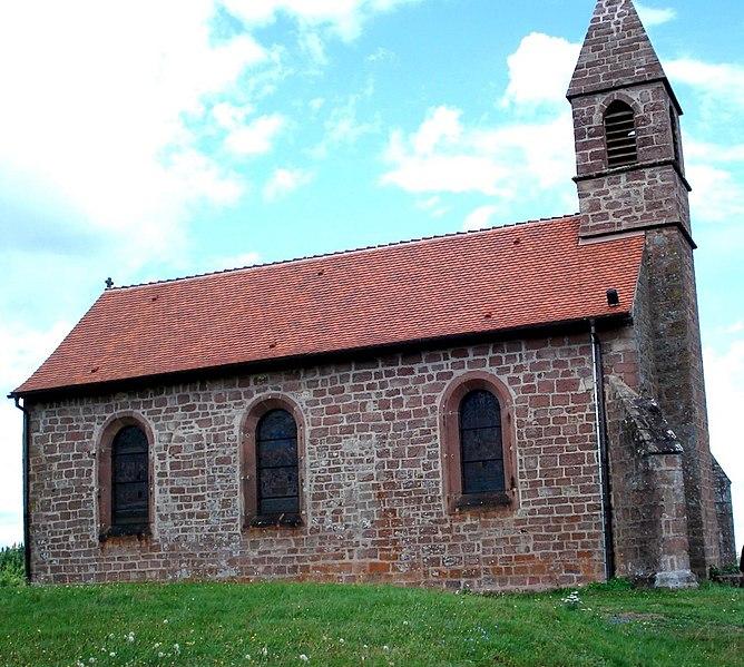 Photo du Monument Historique Chapelle Haute du pèlerinage situé à Saint-Quirin