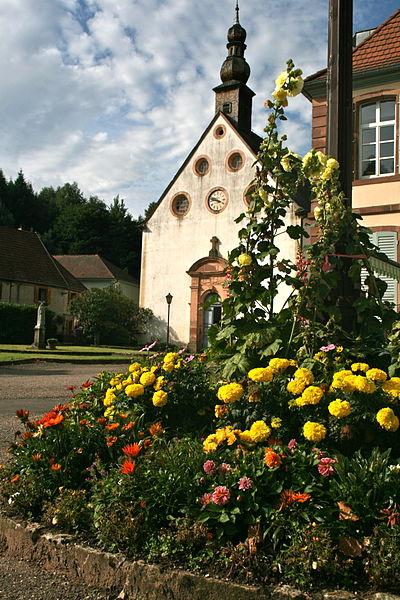 Photo du Monument Historique Verrerie de Lettenbach situé à Saint-Quirin