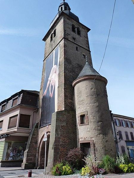 Photo du Monument Historique Fortifications situé à Sarralbe
