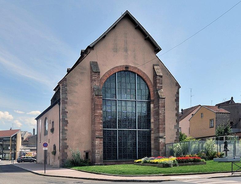 Photo du Monument Historique Chapelle des Franciscains  ou des Cordeliers situé à Sarrebourg