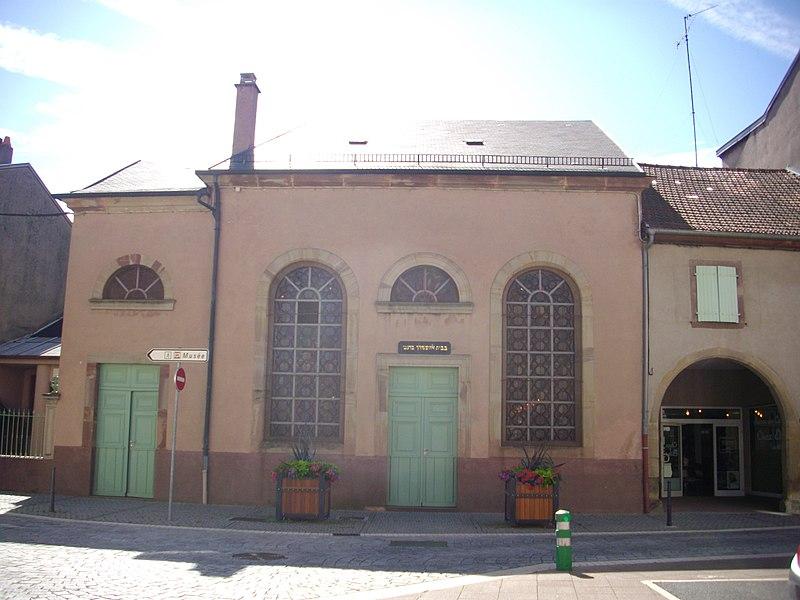 Photo du Monument Historique Synagogue situé à Sarrebourg
