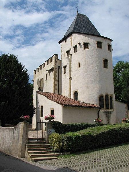 Photo du Monument Historique Eglise de Chazelles situé à Scy-Chazelles