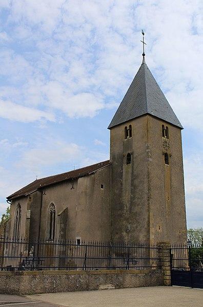 Photo du Monument Historique Eglise Saint-Martin situé à Sillegny