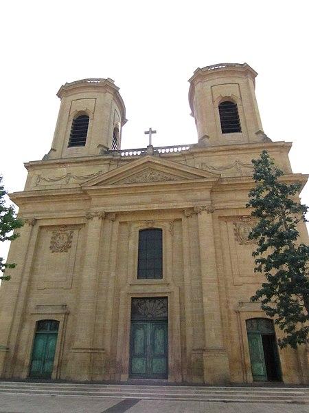 Photo du Monument Historique Eglise Saint-Maximin situé à Thionville