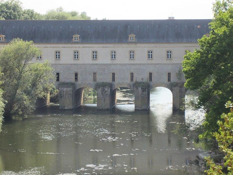 Photo du Monument Historique Pont-écluse Sud du Couronné d'Yutz situé à Thionville