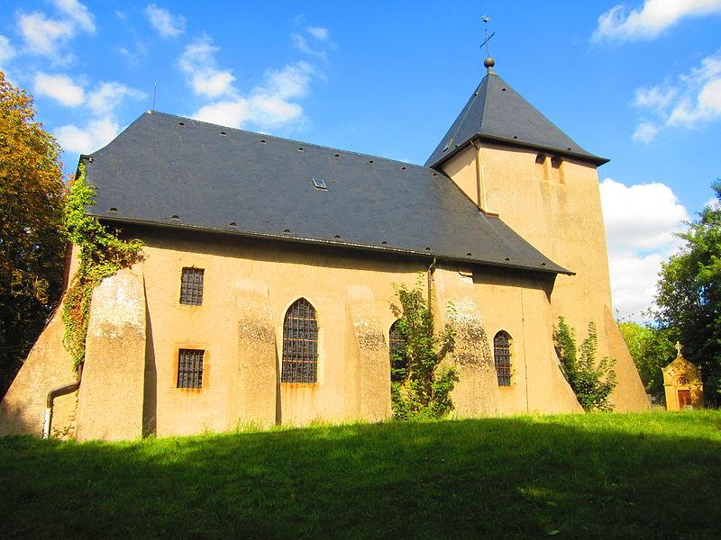 Photo du Monument Historique Eglise situé à Valmunster