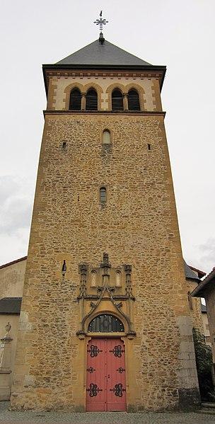 Photo du Monument Historique Eglise Saint-Rémy situé à Vaux
