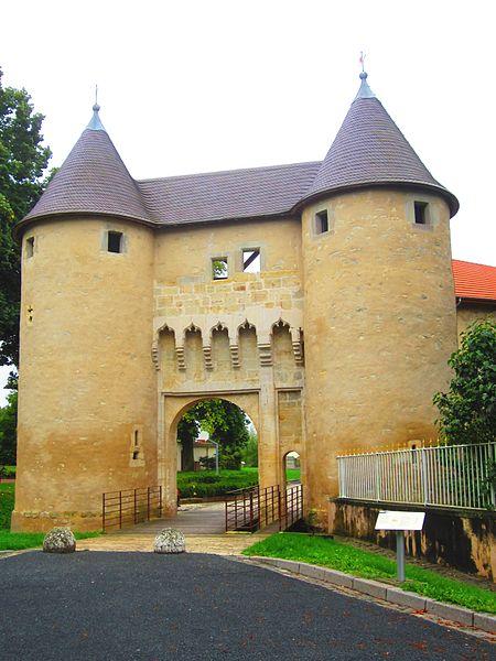 Photo du Monument Historique Château (restes) situé à Vic-sur-Seille