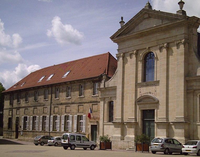 Photo du Monument Historique Couvent des Carmes situé à Vic-sur-Seille