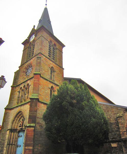 Photo du Monument Historique Eglise Saint-Marien situé à Vic-sur-Seille