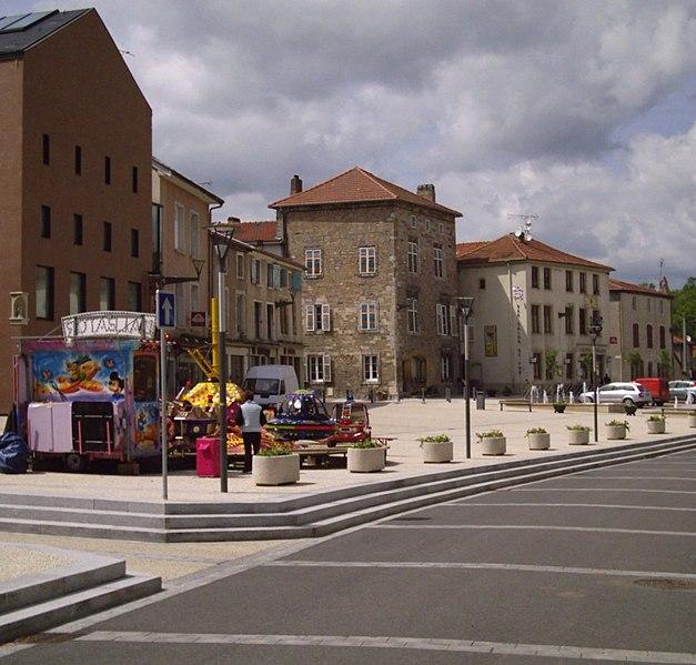 Photo du Monument Historique Immeuble situé à Vic-sur-Seille