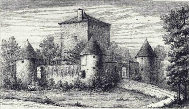 Photo du Monument Historique Château situé à Woippy