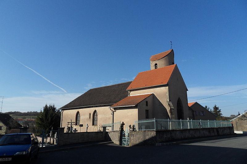 Photo du Monument Historique Eglise situé à Xouaxange