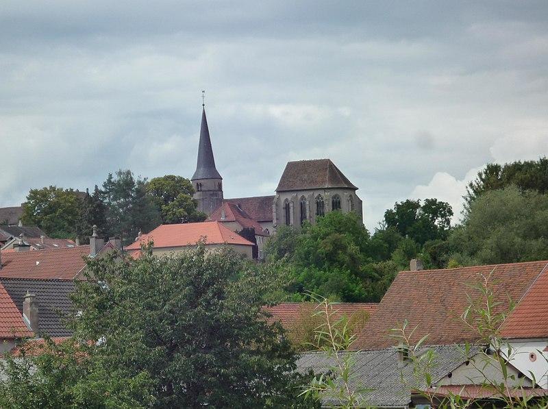 Photo du Monument Historique Eglise Saint-Michel situé à Zetting