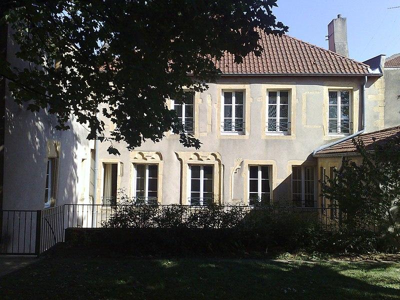 Photo du Monument Historique Hôtel de Malte situé à Metz