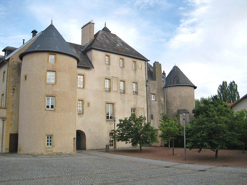 Photo du Monument Historique Château Fabert situé à Moulins-lès-Metz