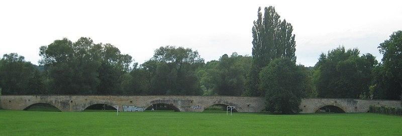 Photo du Monument Historique Vieux Pont situé à Moulins-lès-Metz