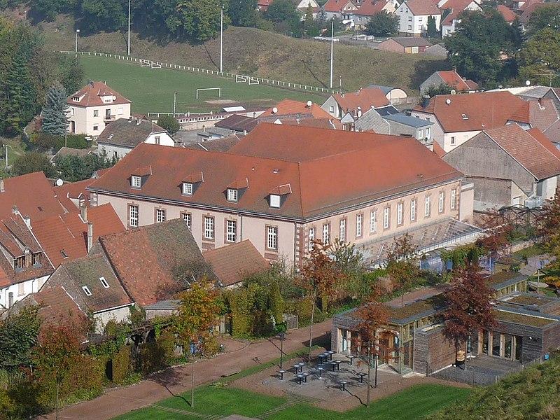 Photo du Monument Historique Hôpital militaire situé à Bitche