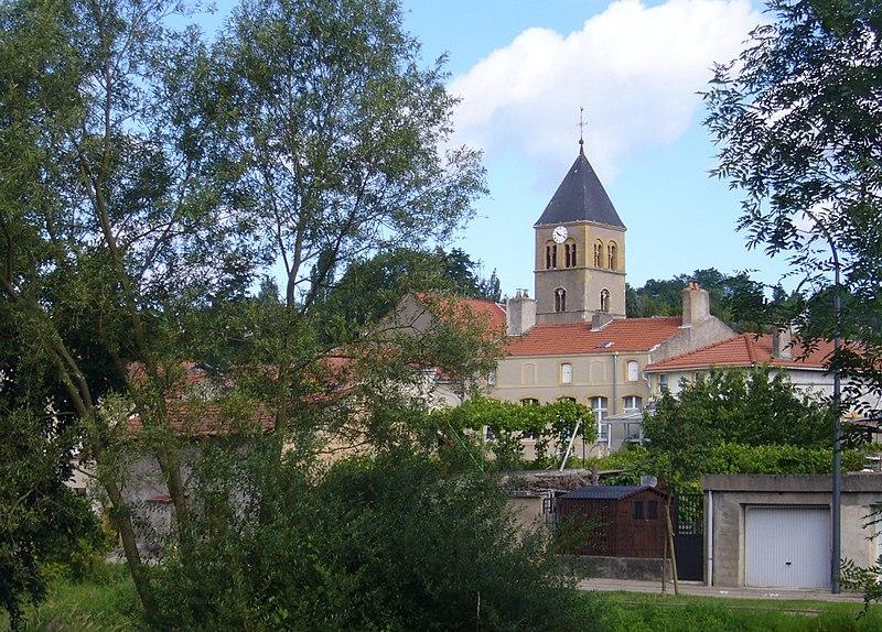 Photo du Monument Historique Eglise Sainte-Lucie, à Vallières situé à Metz