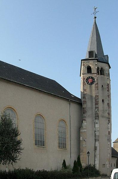 Photo du Monument Historique Chapelle Saint-Etienne de l'Ordre Teutonique, actuellement église paroissiale Saint-Martin situé à Cattenom