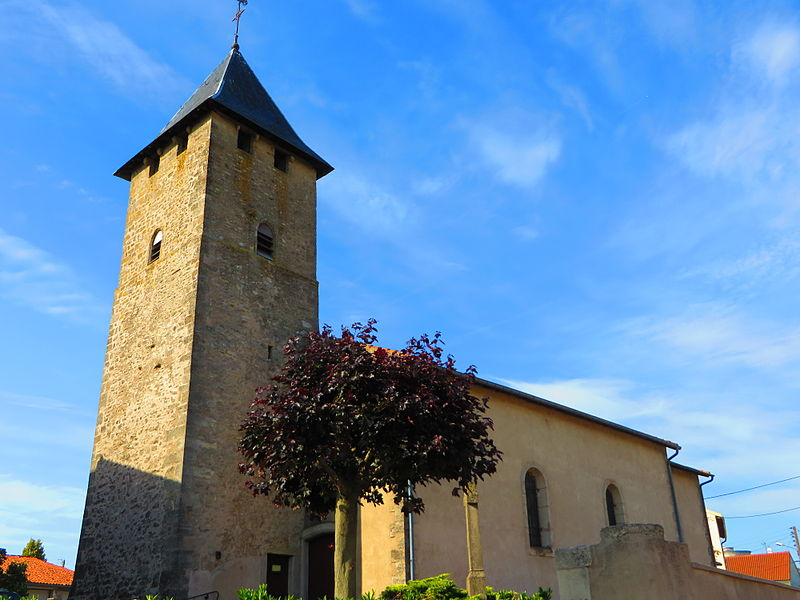 Photo du Monument Historique Eglise Saint-Pierre situé à Arraincourt