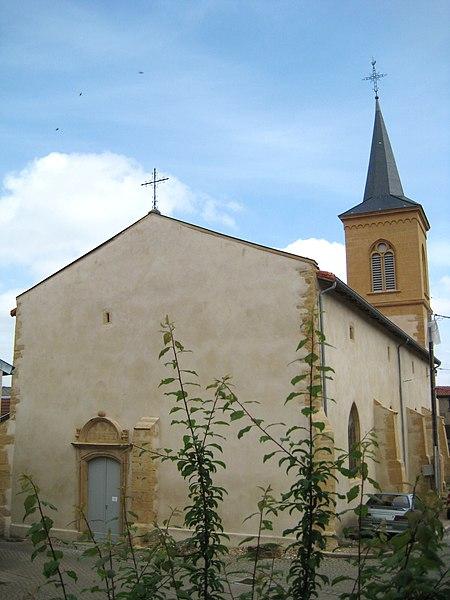 Photo du Monument Historique Eglise Saint-Martin situé à Pierrevillers