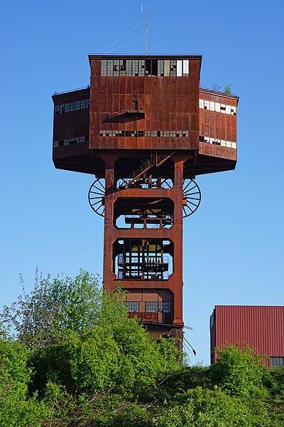 Photo du Monument Historique Puits I situé à Folschviller