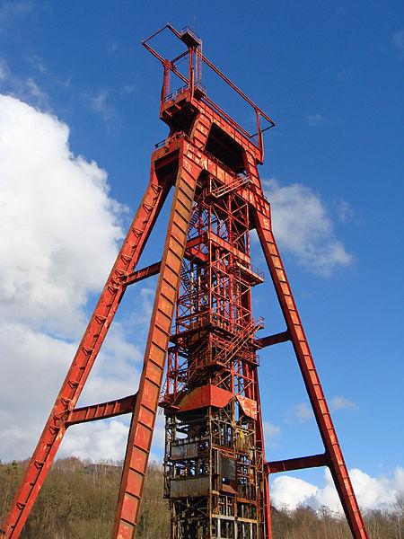 Photo du Monument Historique Carreau de Sainte-Fontaine situé à Saint-Avold