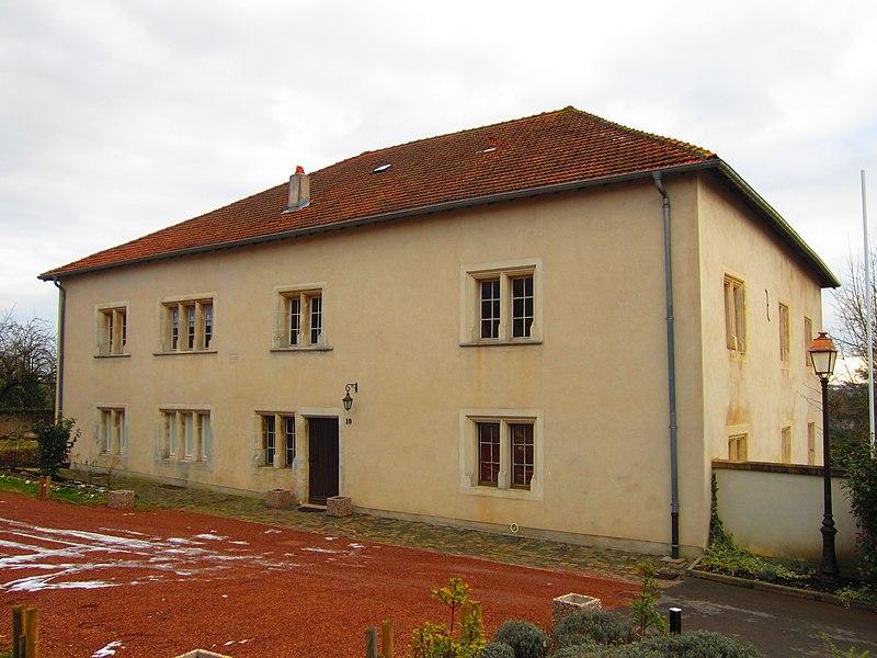 Photo du Monument Historique Maison dite du Bailli situé à Morhange