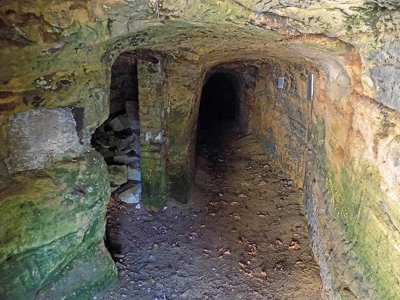 Photo du Monument Historique Ancienne mine de plomb du Bleiberg situé à Saint-Avold