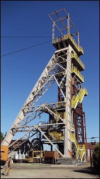 Photo du Monument Historique Ancienne mine de fer Bassompierre situé à Aumetz