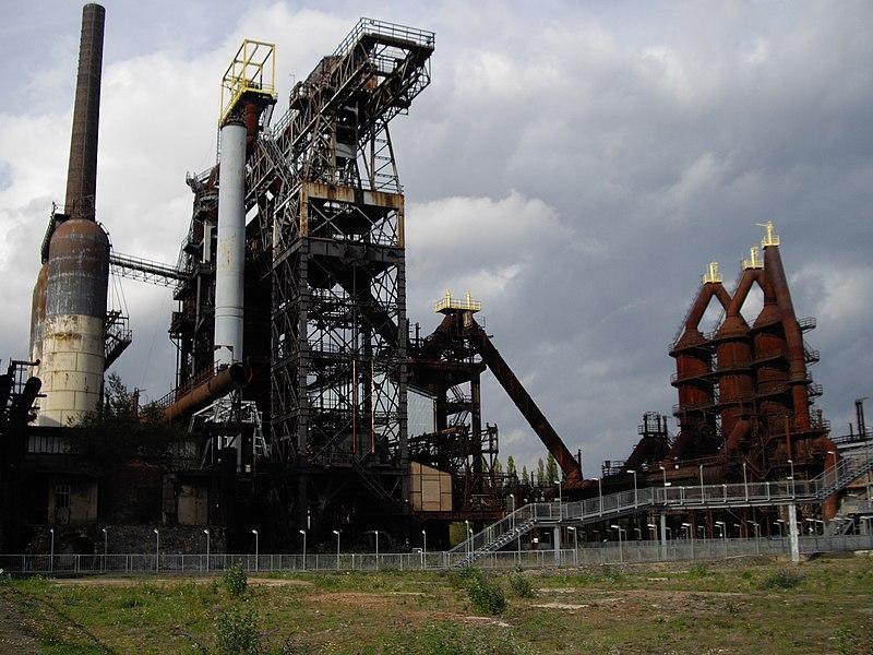 Photo du Monument Historique Usine sidérurgique situé à Uckange