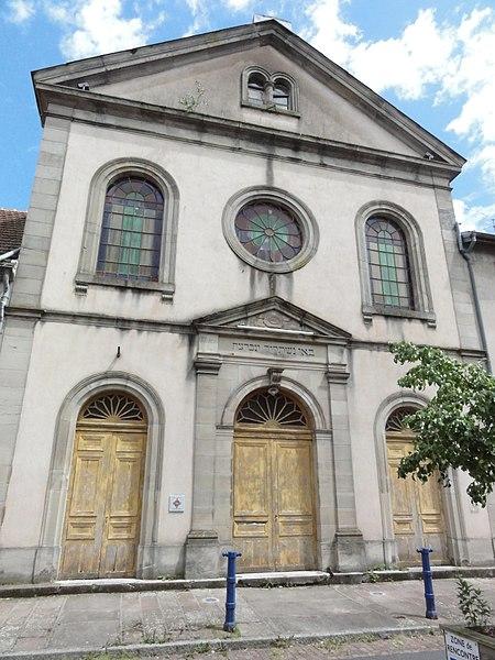 Photo du Monument Historique Synagogue situé à Phalsbourg