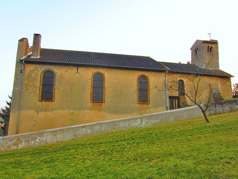 Photo du Monument Historique Eglise Saint-Laurent de Mardigny situé à Lorry-Mardigny