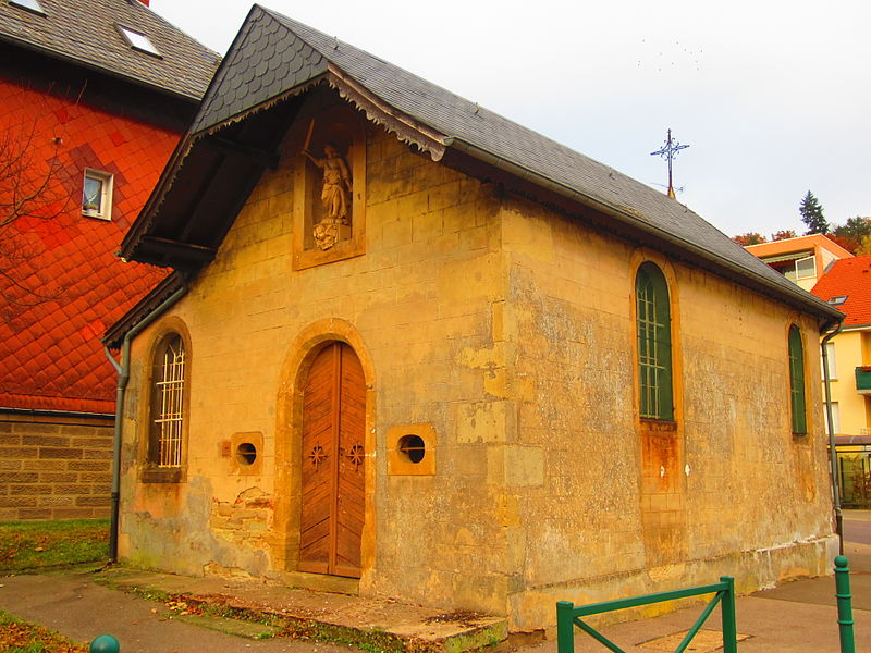 Photo du Monument Historique Chapelle de la Sainte-Trinité situé à Saint-Avold