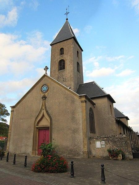 Photo du Monument Historique Eglise Saint-Rémy de Scy situé à Scy-Chazelles